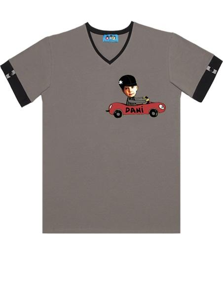 KID FACE autós férfi póló