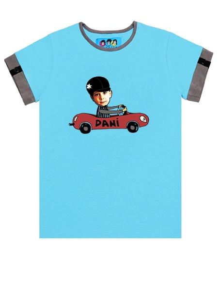 KID FACE autós kisfiú póló
