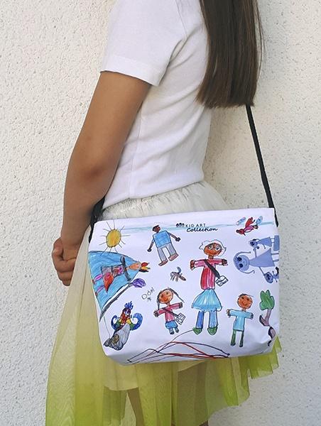 KID ART gyerek táska fekvő