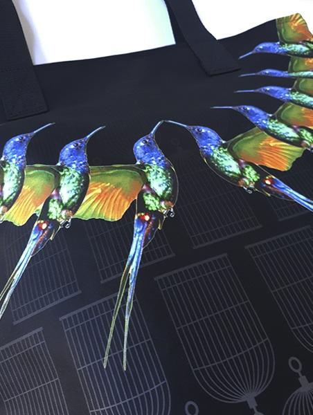 ECLECTICK kolibri táska részlet