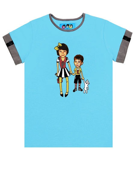 KID FACE kisfiú és nagylány kisfiú póló